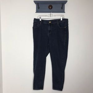 Lane Bryant skinny jeans 18 short